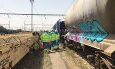 Sufre una descarga eléctrica cuando se hacía fotos sobre un tren en Coslada