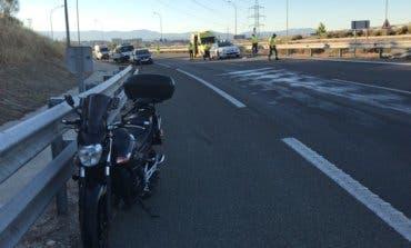 Muere en el hospital un motorista accidentado en Alcobendas