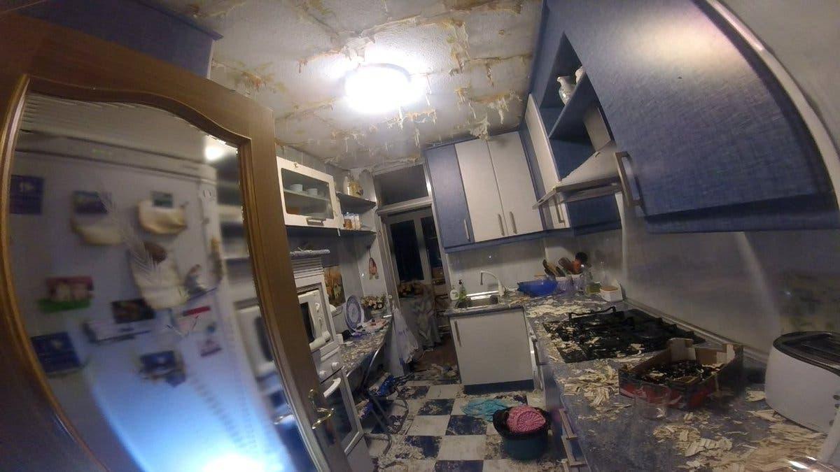 La explosión de un calentador deja dos heridos en Guadalajara