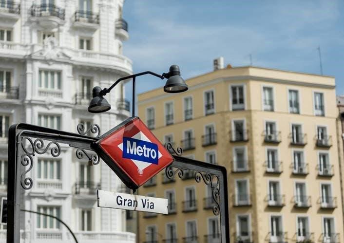 La estación de Metro de Gran Vía cierra desde este lunes hasta mediados de abril