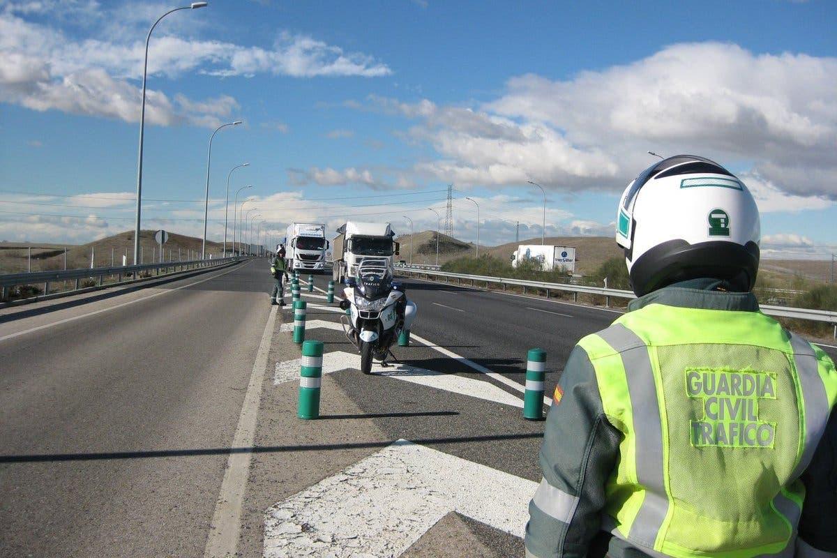 Controles masivos en carretera durante las fiestas de los pueblos de Guadalajara