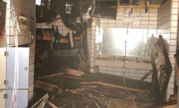 Un incendio en las saunas obliga a desalojar un polideportivo municipal