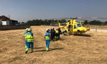 Grave accidente laboral en Paracuellos de Jarama