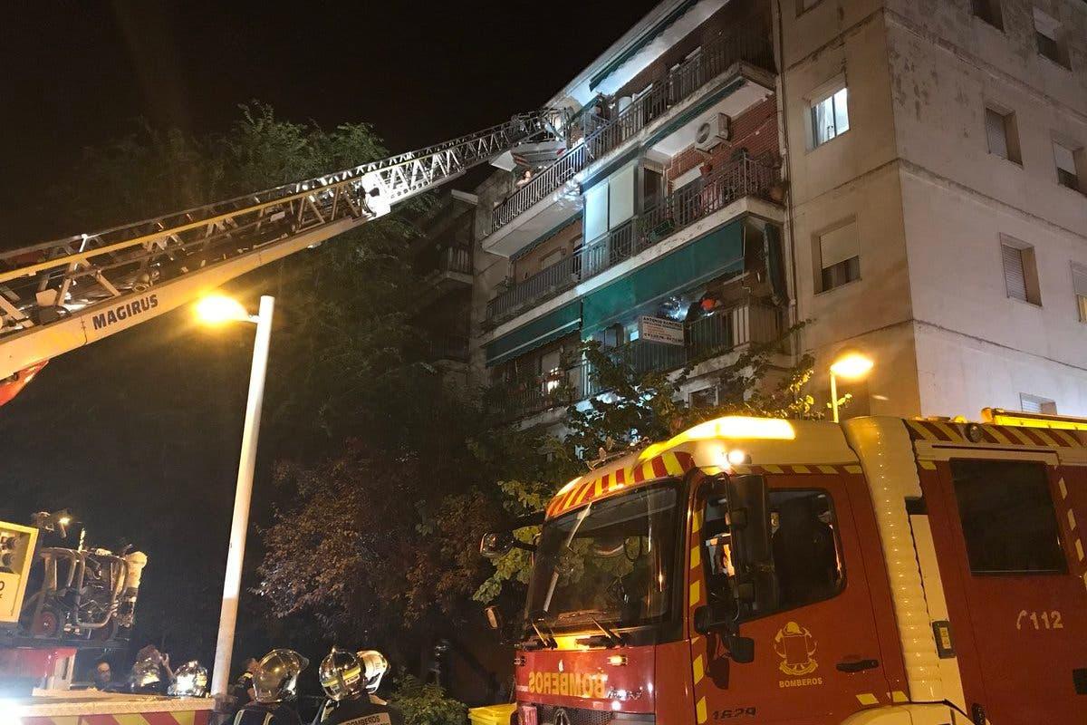 Un incendio deja 30 personas afectadas, entre ellas 9 menores