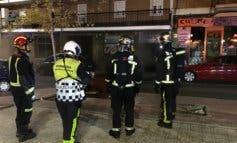 Cuatro mujeres afectadas por un incendio en una galería comercial
