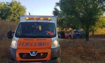 Herido un ciclistas tras sufrir una caída en Velilla de San Antonio