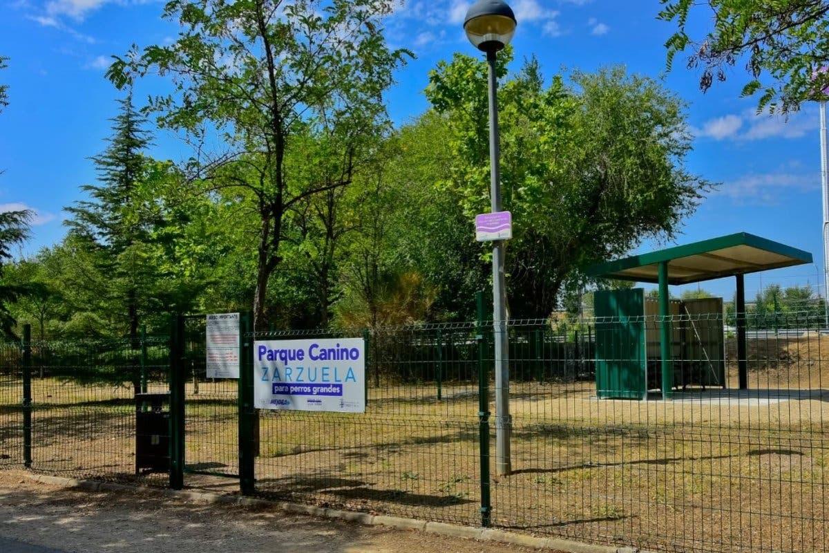 Torrejón estrena dos nuevos parques caninos