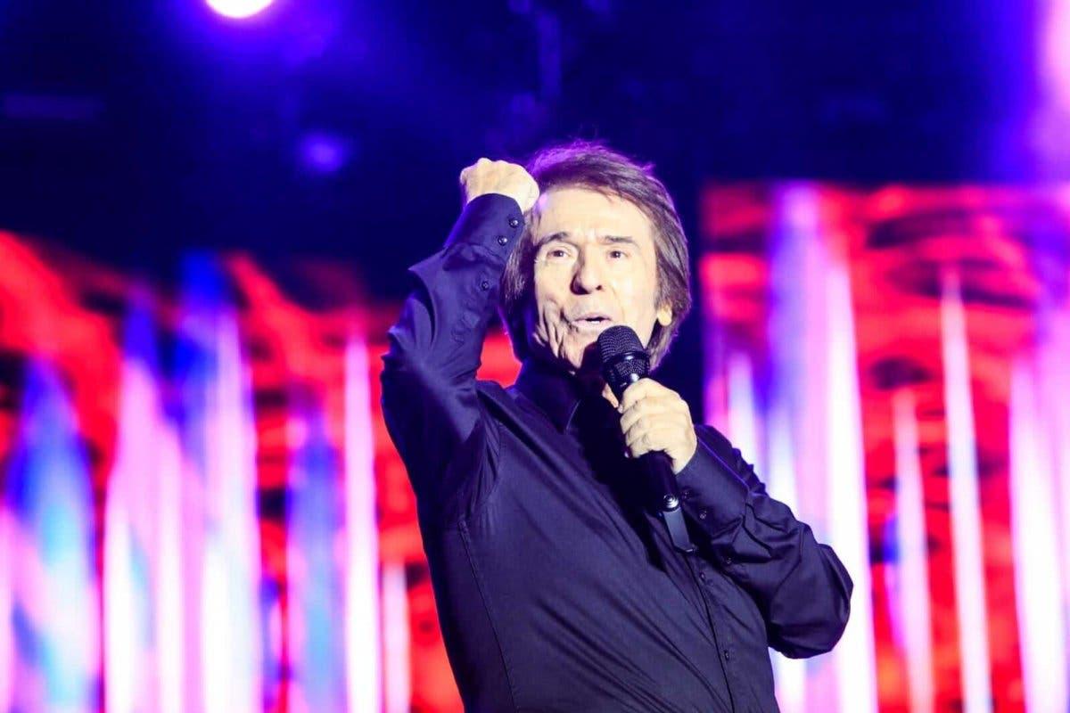 Una tromba de agua obliga a suspender el concierto de Raphael en Azuqueca de Henares