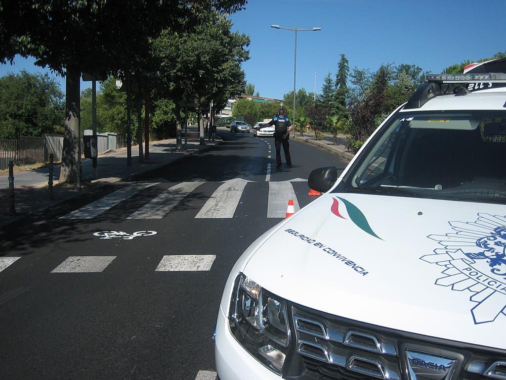 Campaña de la Policía de Coslada para controlar las distracciones al volante