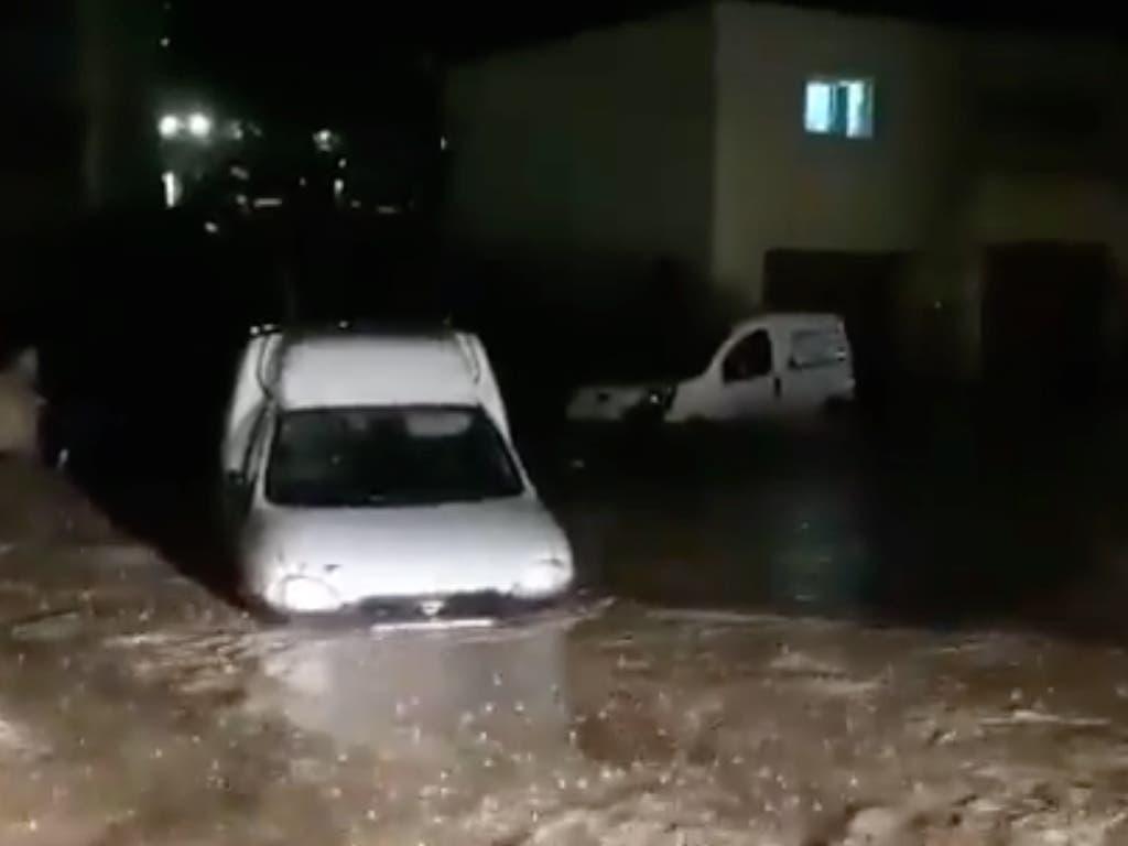 La tormenta provoca numerosos daños y cortes de carreteras en Guadalajara