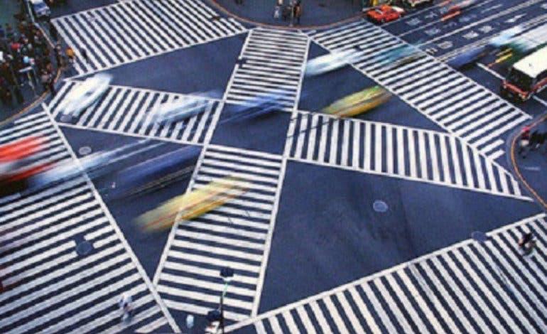 Madrid tendrá el primer paso de peatones en diagonal de España