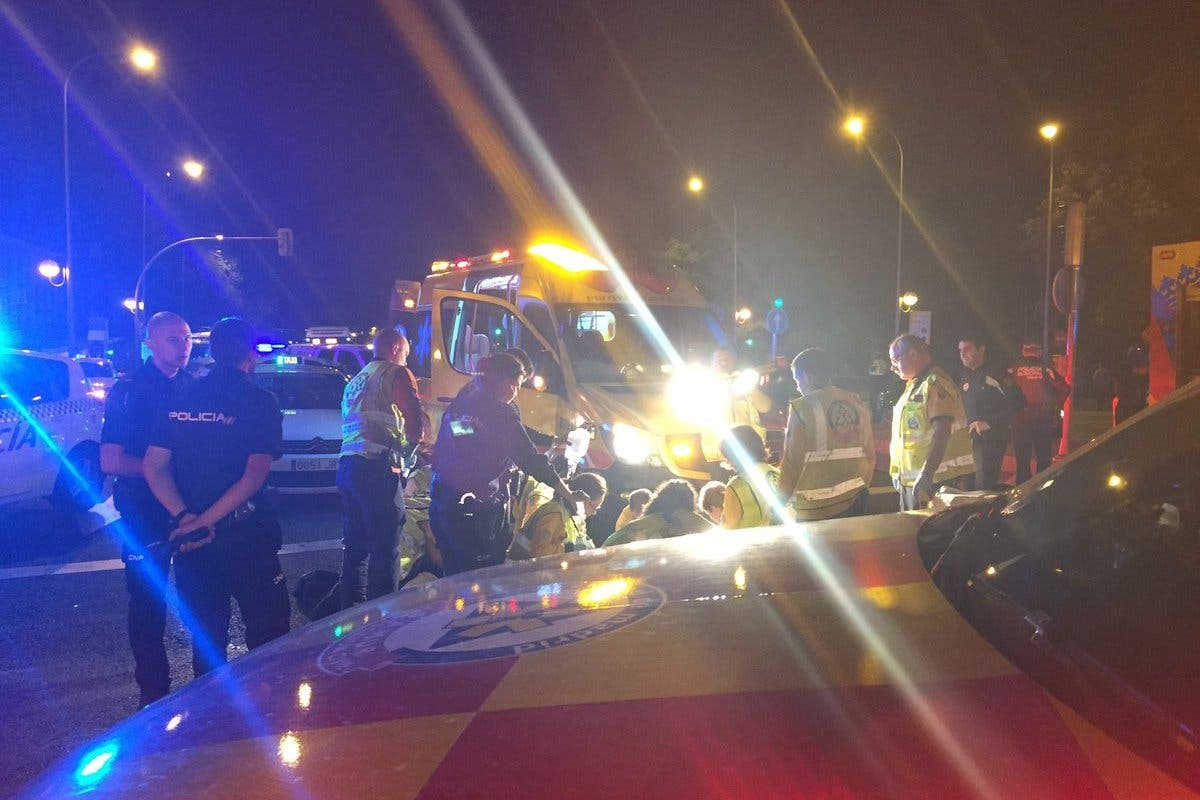 En estado crítico un hombre tras ser atropellado en Madrid