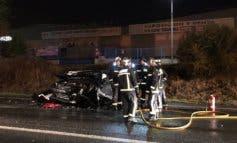Tres heridos, uno grave, en un accidente en Mejorada del Campo