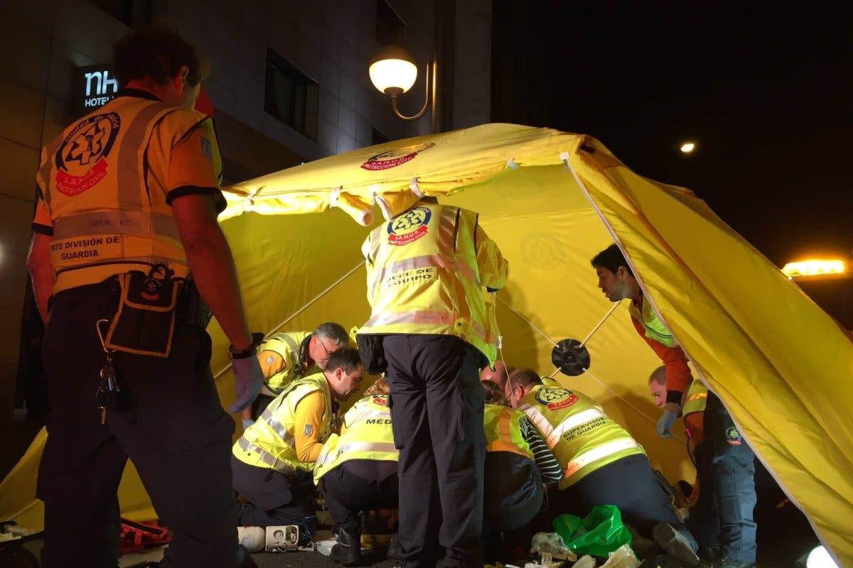 Herido muy grave un joven de 19 años tras ser atropellado en Madrid