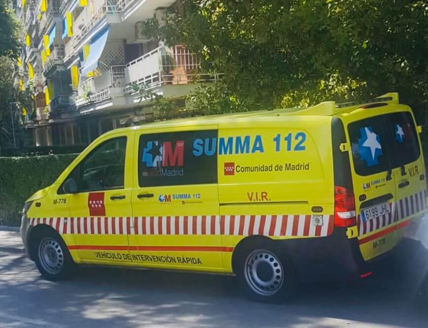 Herido un hombre en Alcalá de Henares al sufrir un corte profundo con una radial