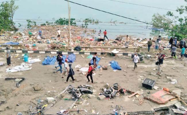 Parte de Torrejón un avión con ayuda humanitaria para Indonesia