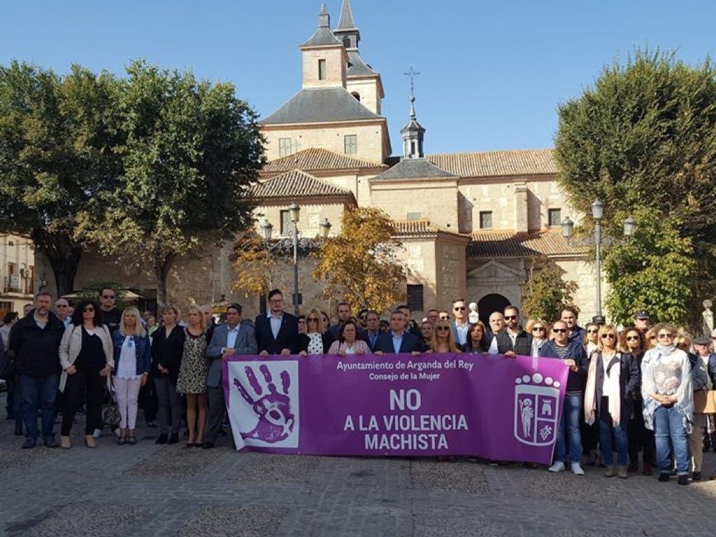 Arganda se solidariza con la familia de María José