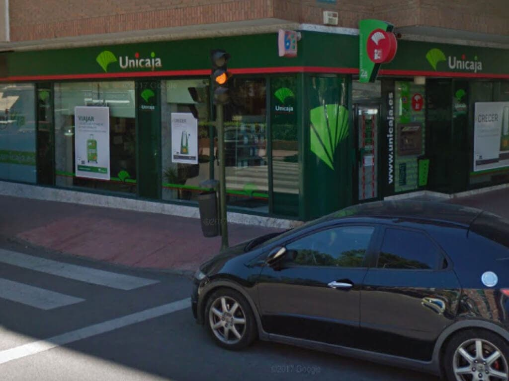 La Policía busca al atracador de un banco en Alcalá de Henares