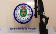 Denunciado un menor en San Fernando de Henares por usar una carabina airsoft en un parque