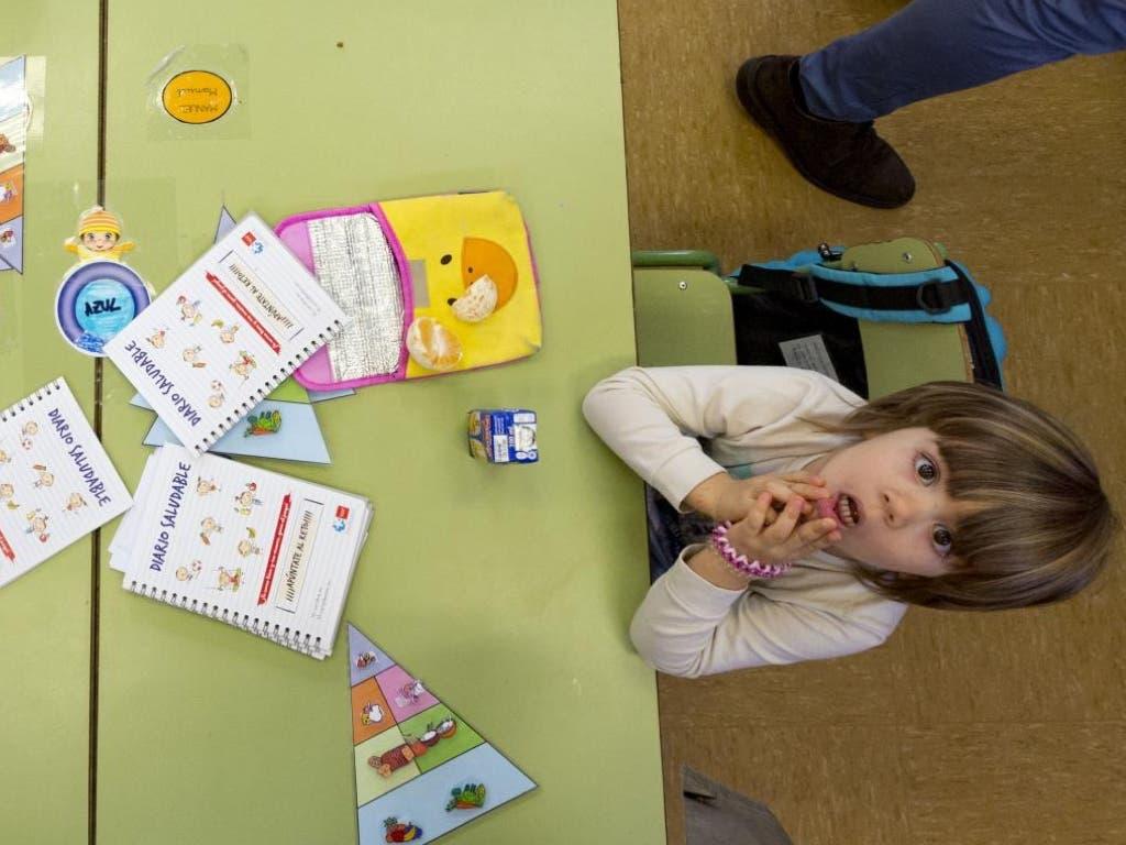 La Comunidad de Madrid lanza un Diario Saludable para escolares de 5 años