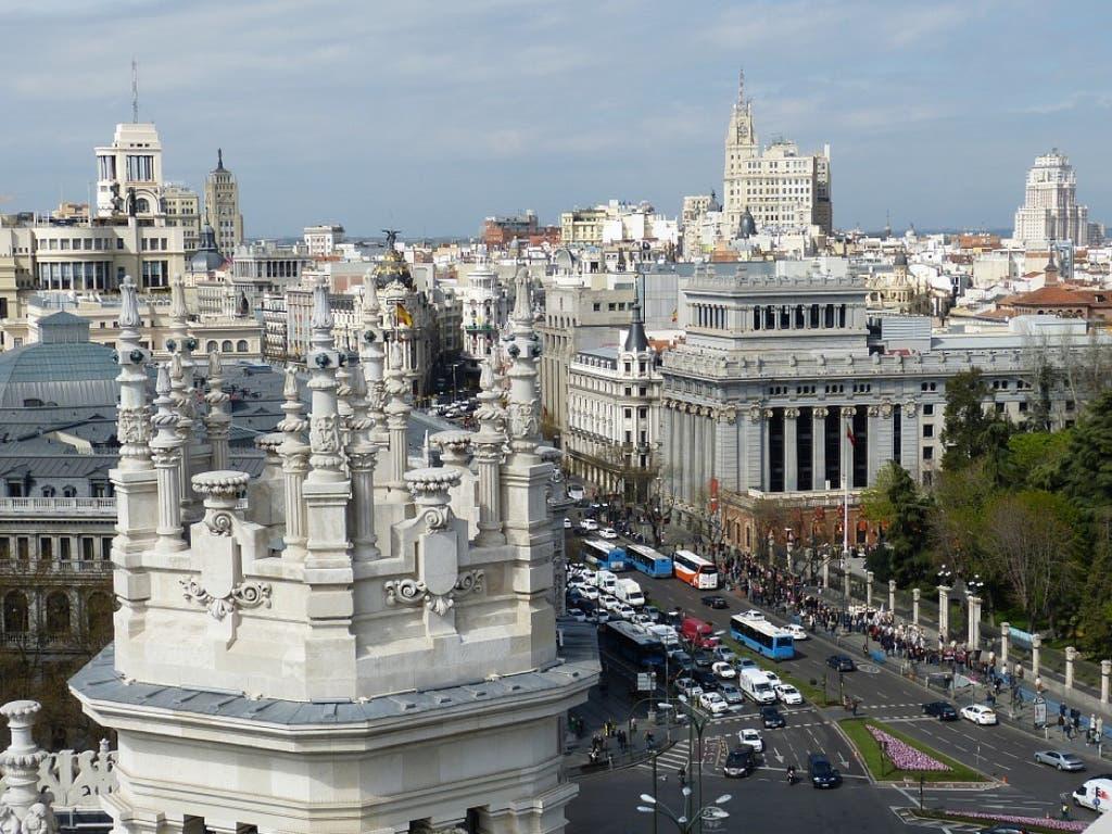 Madrid prohíbe desde hoy circular a más de 30 km/h en la mayoría de sus calles