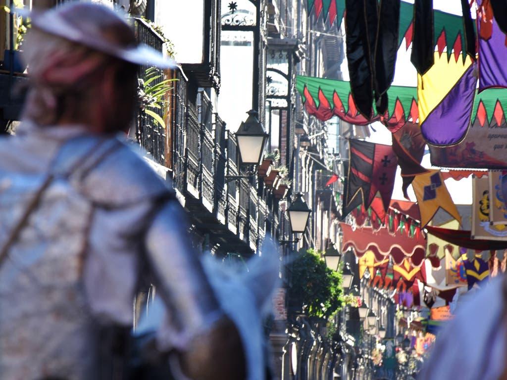 Comienza el Mercado Cervantino de Alcalá de Henares