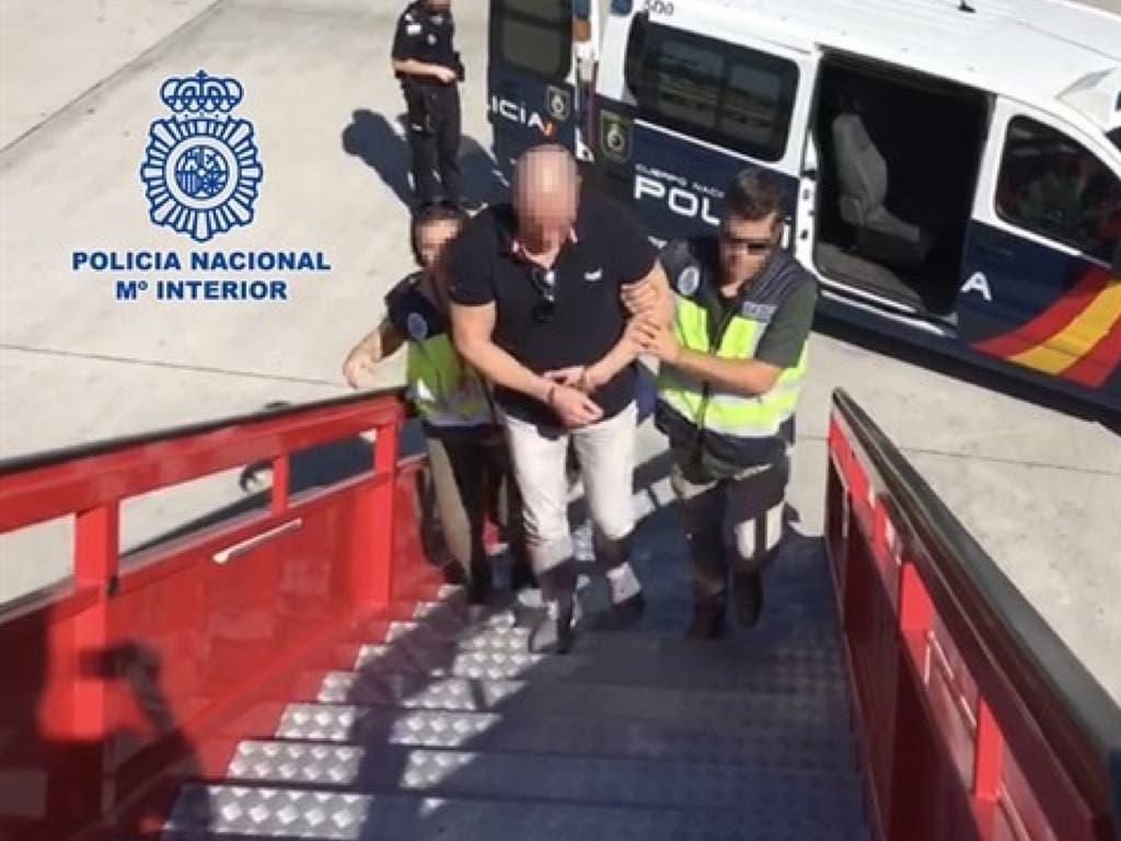 Detenido en Madrid un narco colombiano que vivía escondido en un hotel