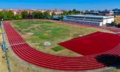 Torrejón mejora la pista de atletismo de la Ciudad Deportiva Joaquín Blume