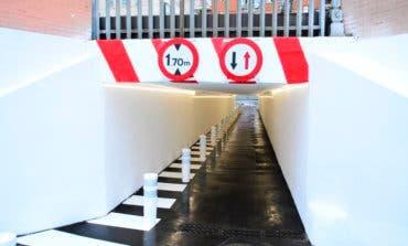 Torrejón mejora el túnel que une el centro y el Recinto Ferial