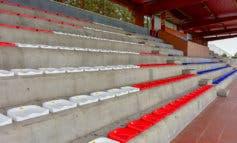 Torrejón reforma los asientos y los vestuarios del estadio Las Veredillas