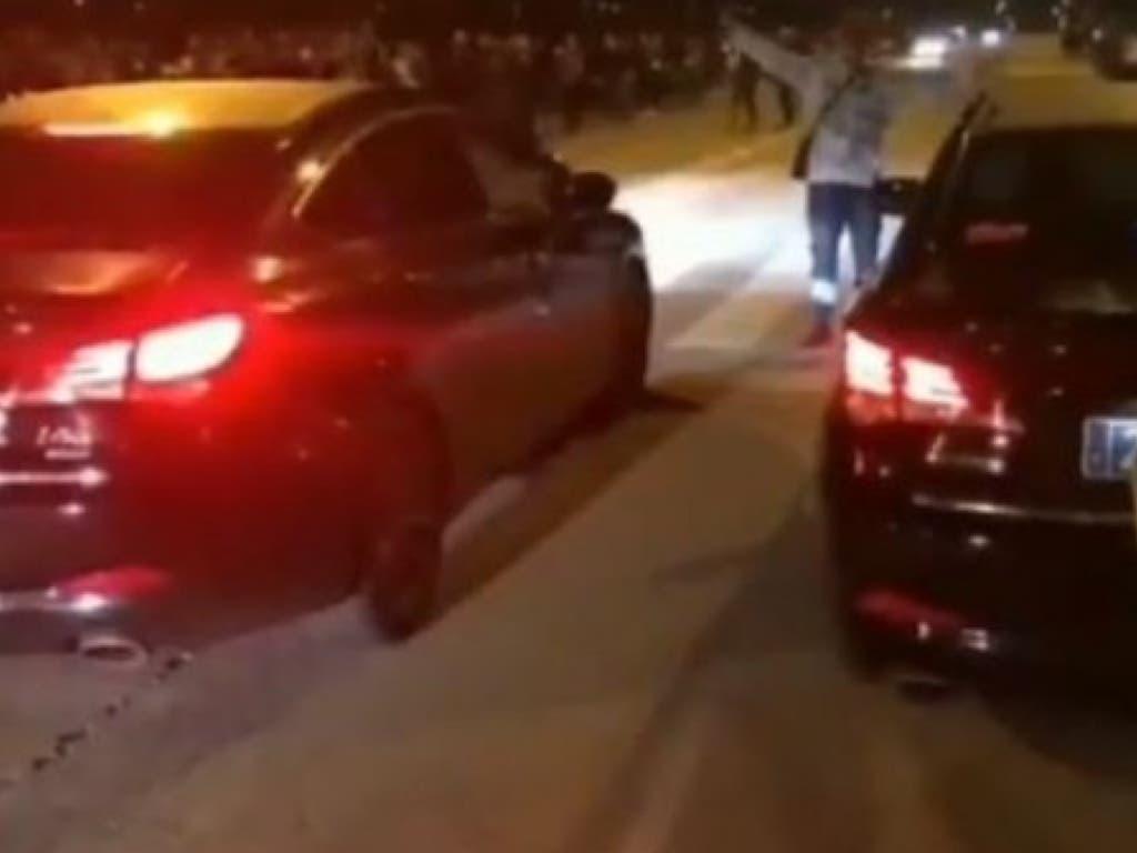 Identificados dos conductores de VTC por participar en una carrera ilegal en Vallecas