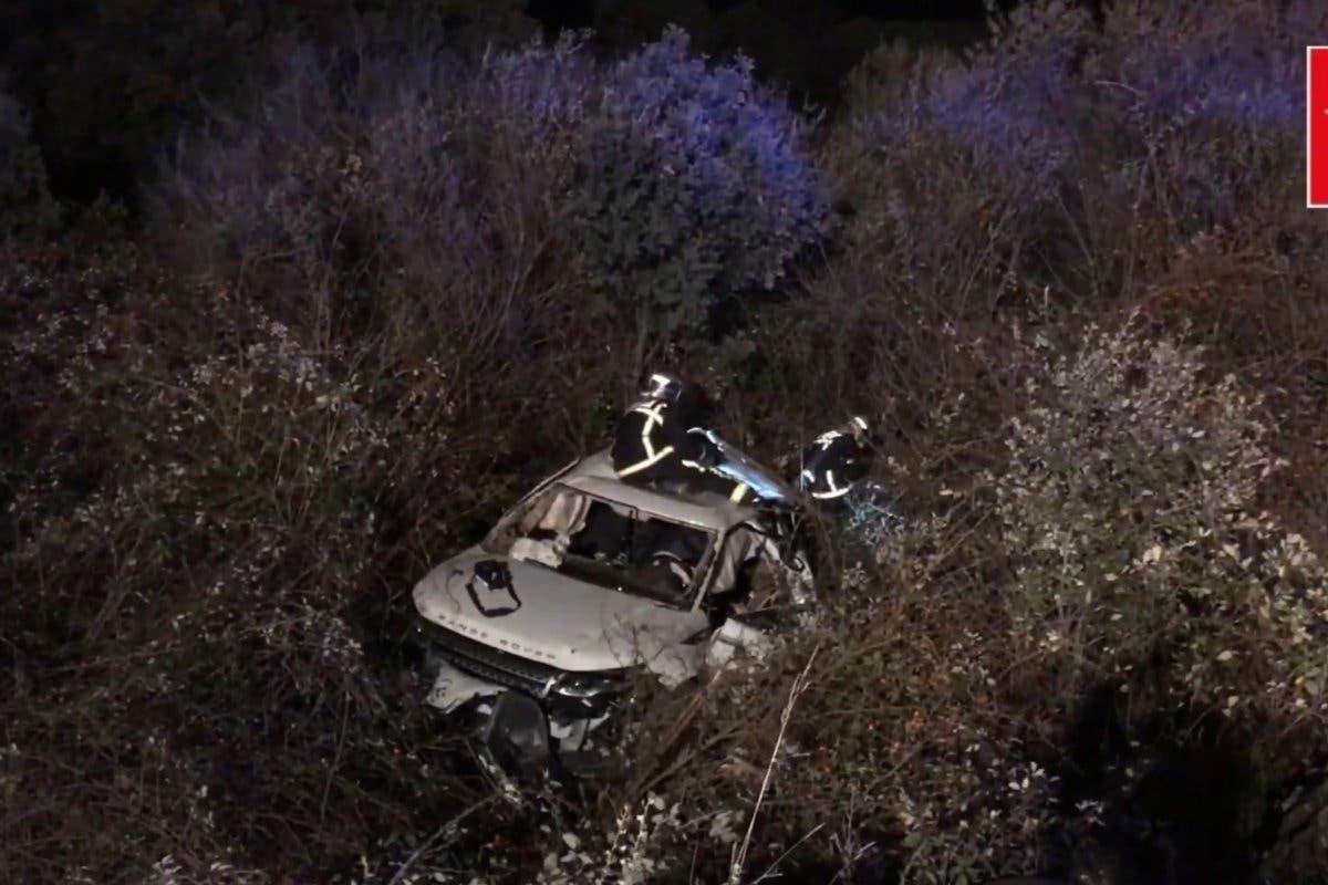 Un muerto y tres heridos en un accidente en Madrid