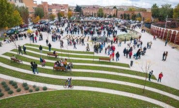 Daganzo estrena nueva Plaza de Cervantes