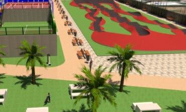 Merendero, pump-track y minigolf en el nuevo parque de Azuqueca