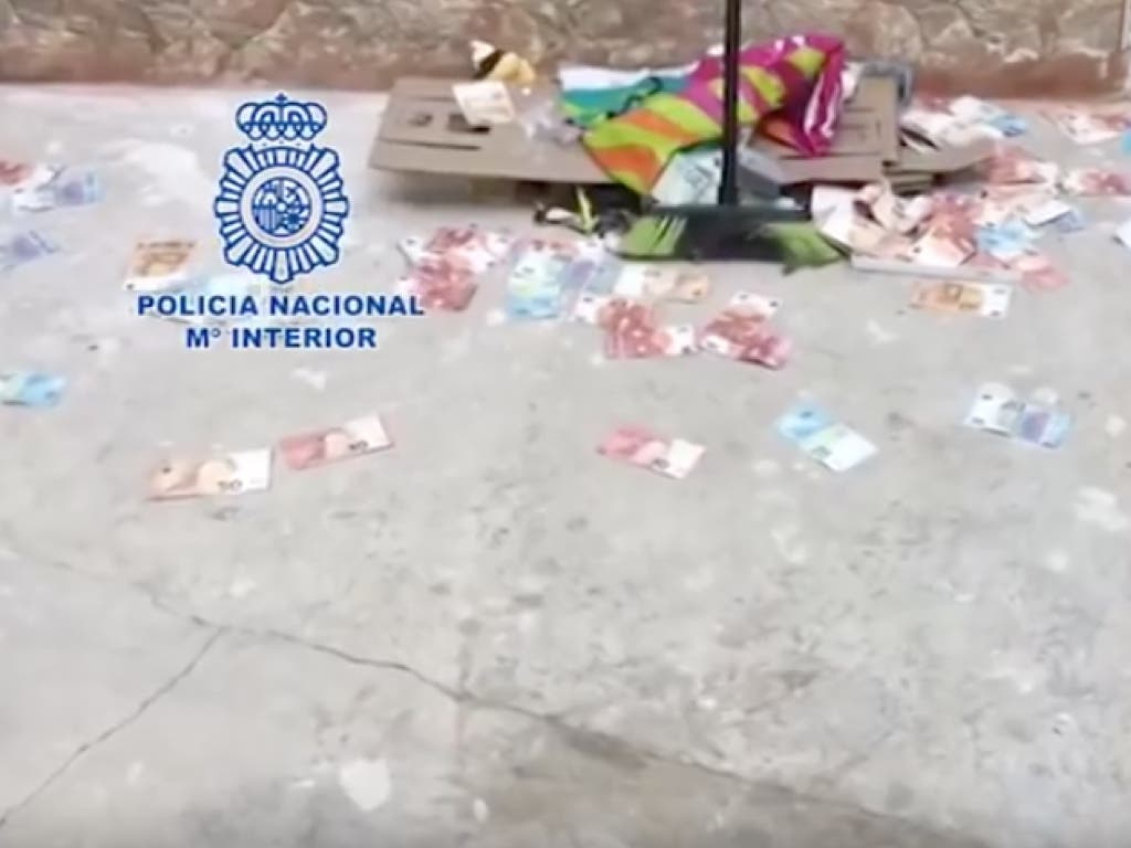 Cae en Madrid una banda que reventaba cajeros con explosivos
