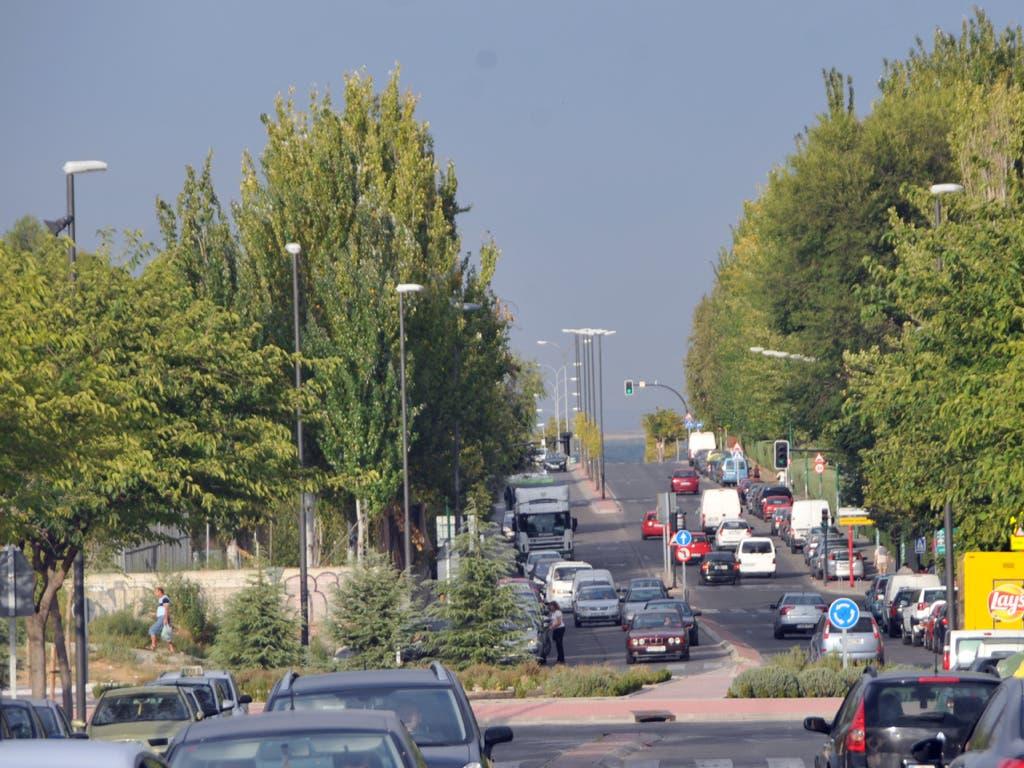 Pillado en Coslada circulando a 110 km/h en una calle limitada a 40