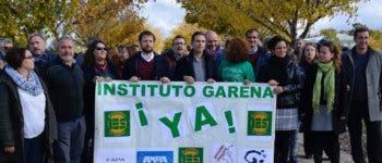 Alcalá de Henares exige la construcción del IES La Garena