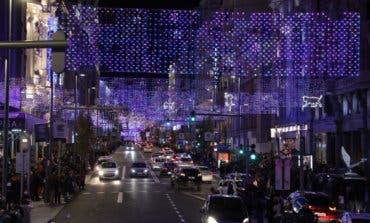 Las calles de Madrid ya lucen de Navidad