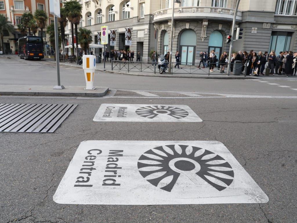 Madrid Central, la zona de bajas emisiones más eficiente de Europa, según un informe