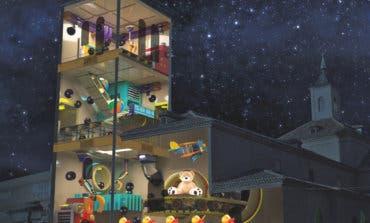 Torrejón estrena un espectáculo de vídeo mapping en sus Mágicas Navidades