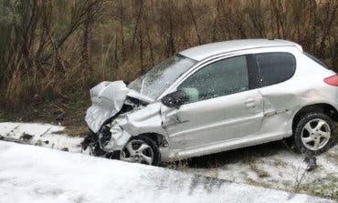 Cuatro heridos al chocar dos coches en la M-501