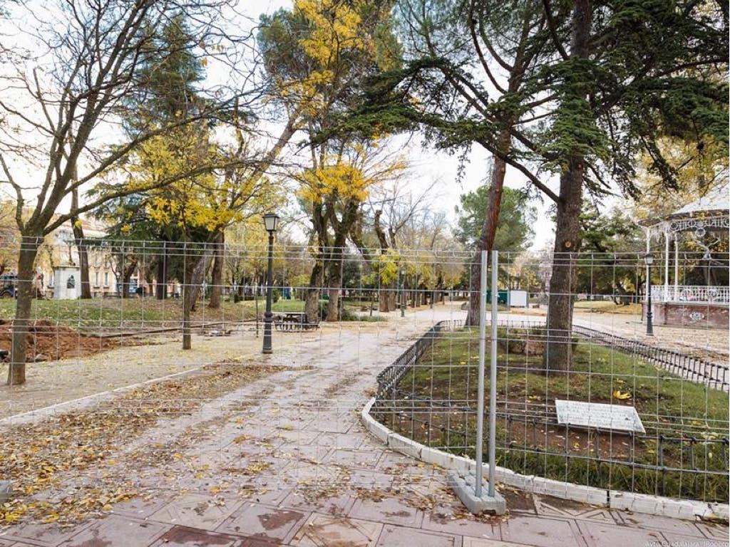 Guadalajara inicia las obras de mejora del parque de La Concordia