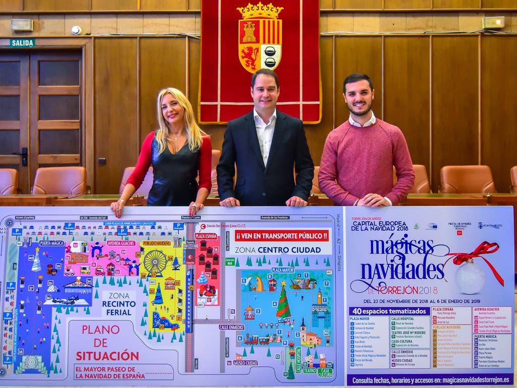 Torrejón presenta el Paseo de la Navidad más grande de España