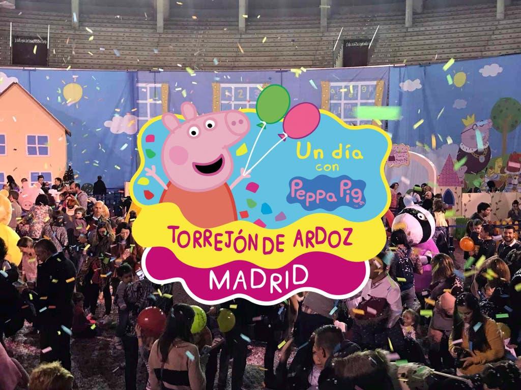 Llega a Torrejón el gran parque temático dePeppa Pig
