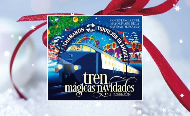 Torrejón pone en marcha el Tren de las Mágicas Navidades desde Chamartín