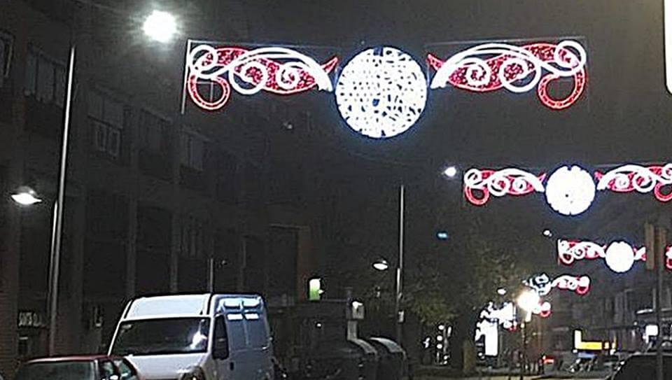 Las luces de Navidad llegan a todos los barrios de Coslada