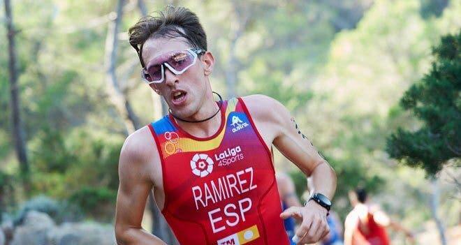 Aitor Ramírez, de Torres de la Alameda, subcampeón de Europa de Duatlón Cross