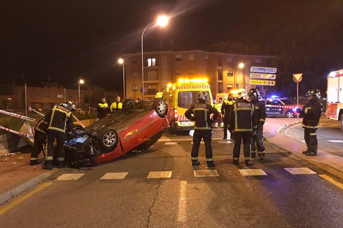 Un coche atropella a varias personas en Alcalá de Henares