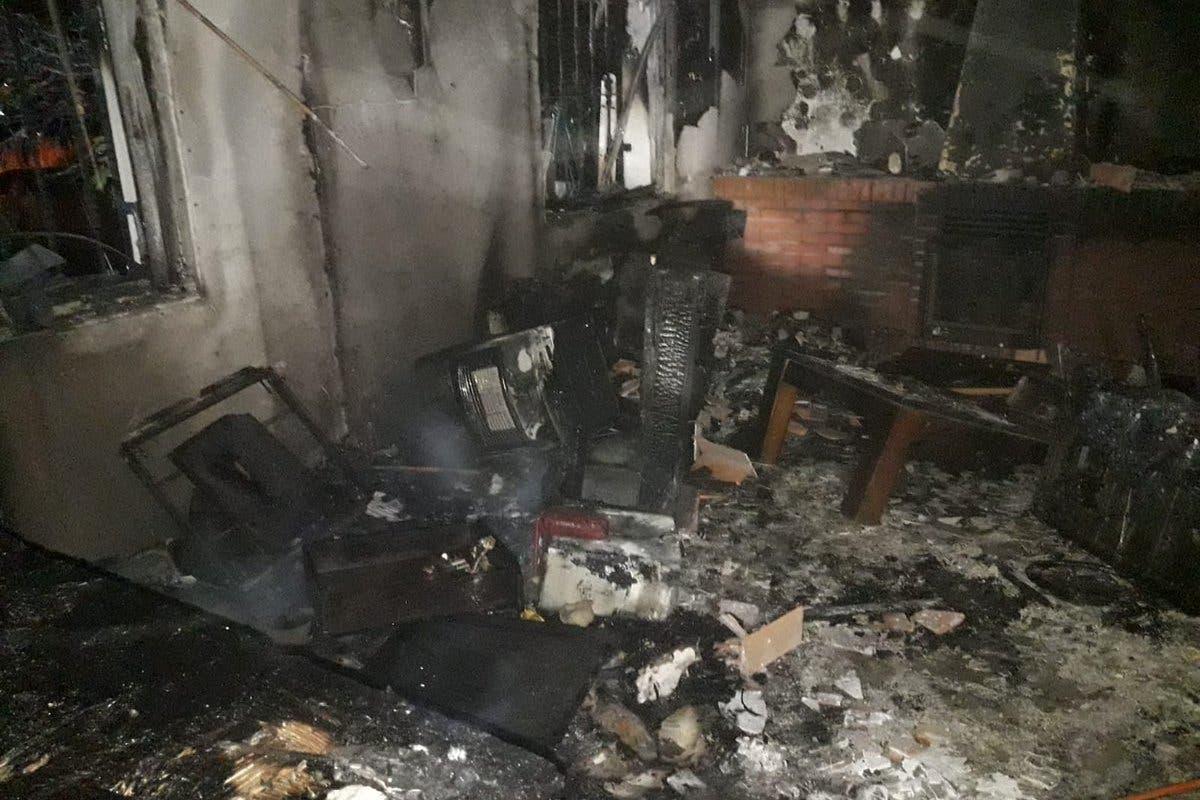 Dos niñas de 13 años salvan al padre de una de ellas de morir en el incendio de su casa en Torrejón del Rey