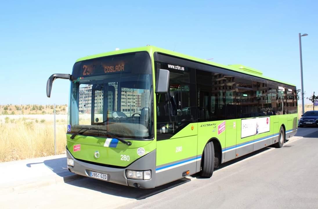 Coslada tendrá autobús nocturno los fines de semana desde Avenida de América